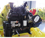 4BT3.9-C105 Cummins Engine para la Construcción
