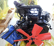 4BT3.9-C80 Cummins Engine para la Construcción